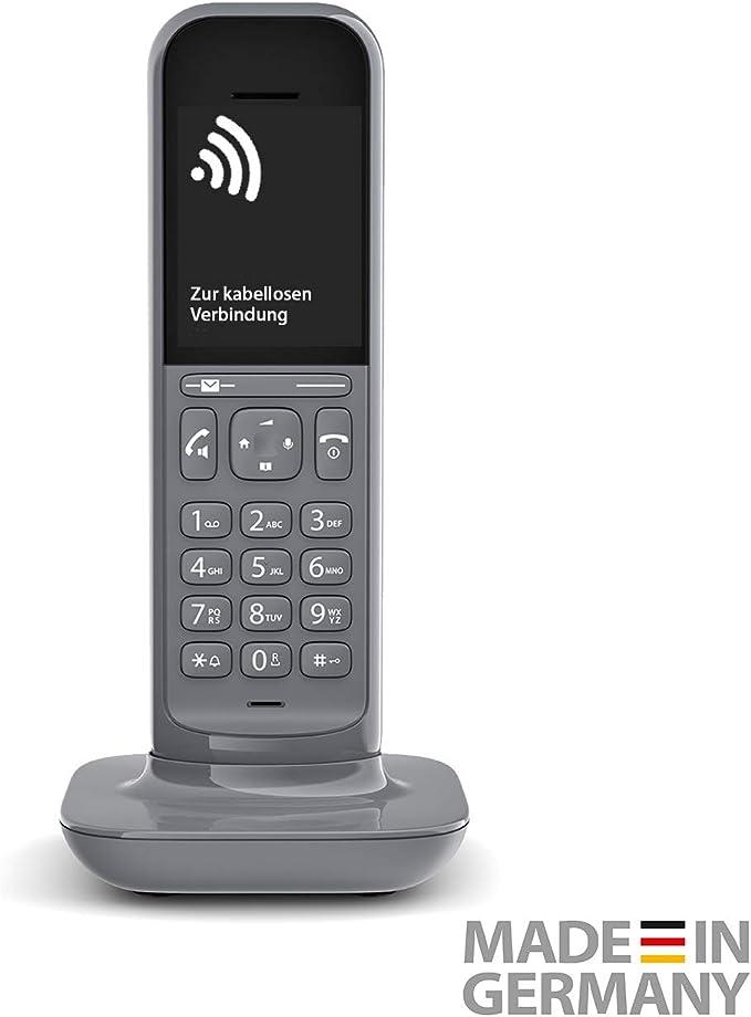 Gigaset CL390HX CL390HX Dark Grey Universal-HX-Mobilteil: Amazon.es: Electrónica