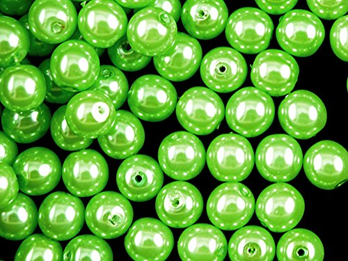 30pcs-czech-beads-with-a-pearl-coating-estrela-round-8mm-pastel-green-pea