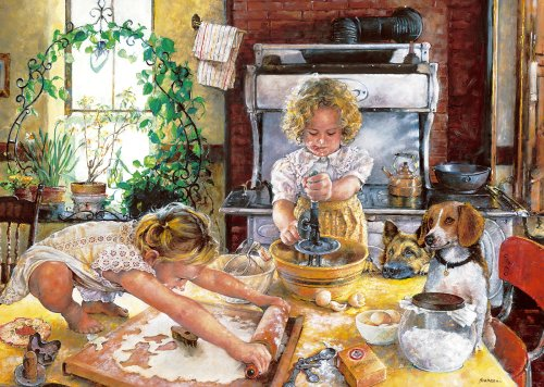 Gibsons - Too Many Cooks 500 Piece Jigsaw Puzzle by Gibsons Games
