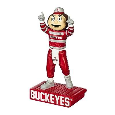 Evergreen Enterprises NCAA Ohio State Buckeyes Mascot DesignGarden Statue, Team Colors, One Size : Sports & Outdoors