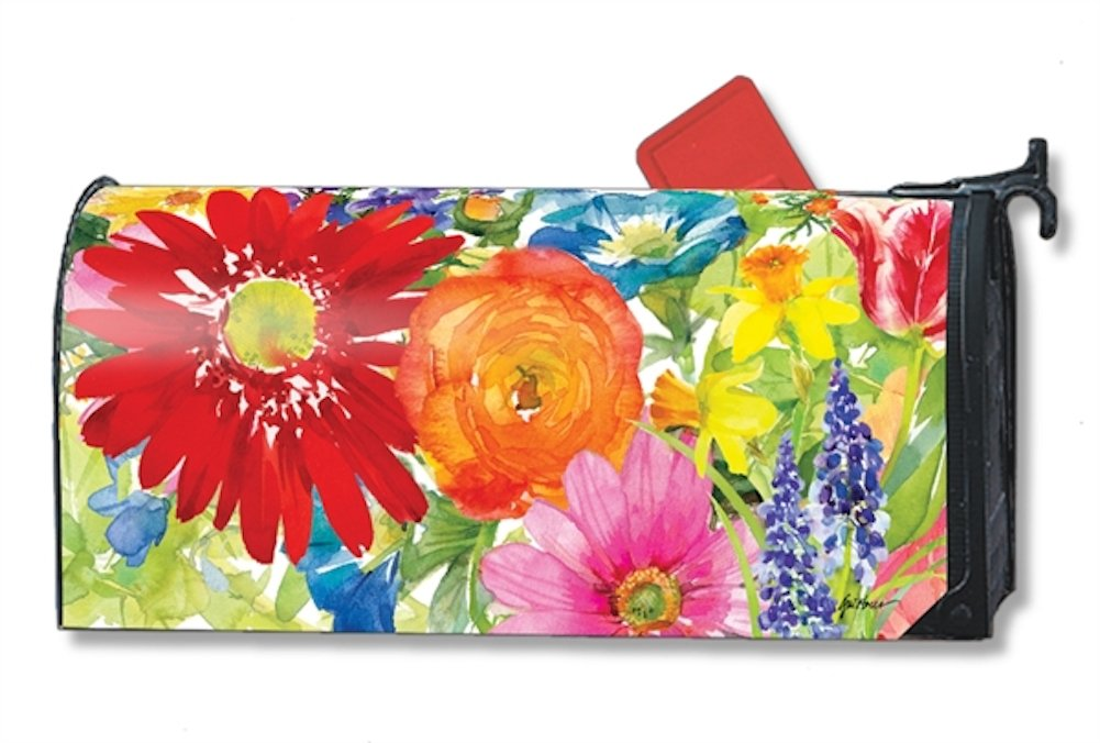 Splash of Color Magnetic Mailbox Cover - LARGE SIZE