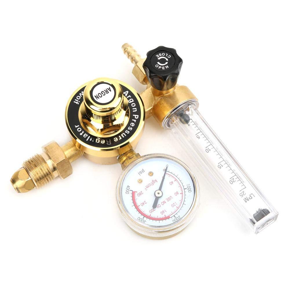 WX-55T-5//8 WX-55T G5//8 Male Thread Argon Gas Pressure Reducer Argon Gas Meter Regulator Argon Pressure Regulator Pressure Reducer