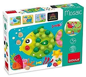 goula mosaico juego para beb s diset 53136 juguetes y juegos. Black Bedroom Furniture Sets. Home Design Ideas