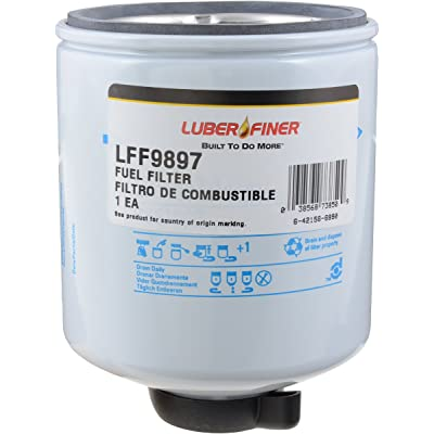 Luber-finer LFF9897 Heavy Duty Fuel Filter: Automotive [5Bkhe1402368]