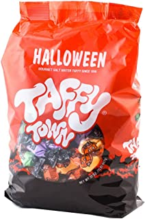product image for Taffy Town Assorted Gourmet Salt Water Taffy, 2 Pound Bag (Assorted) (Halloween)