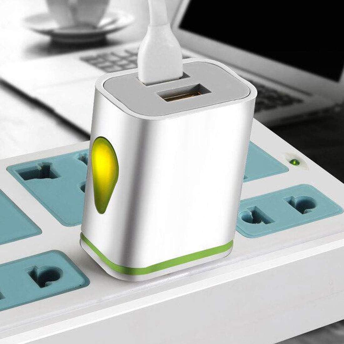 Desconocido Adaptador de Cargador Dual USB Indicador LED de