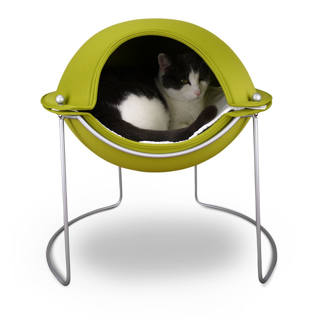 Hepper Pod Cat Bed - Green