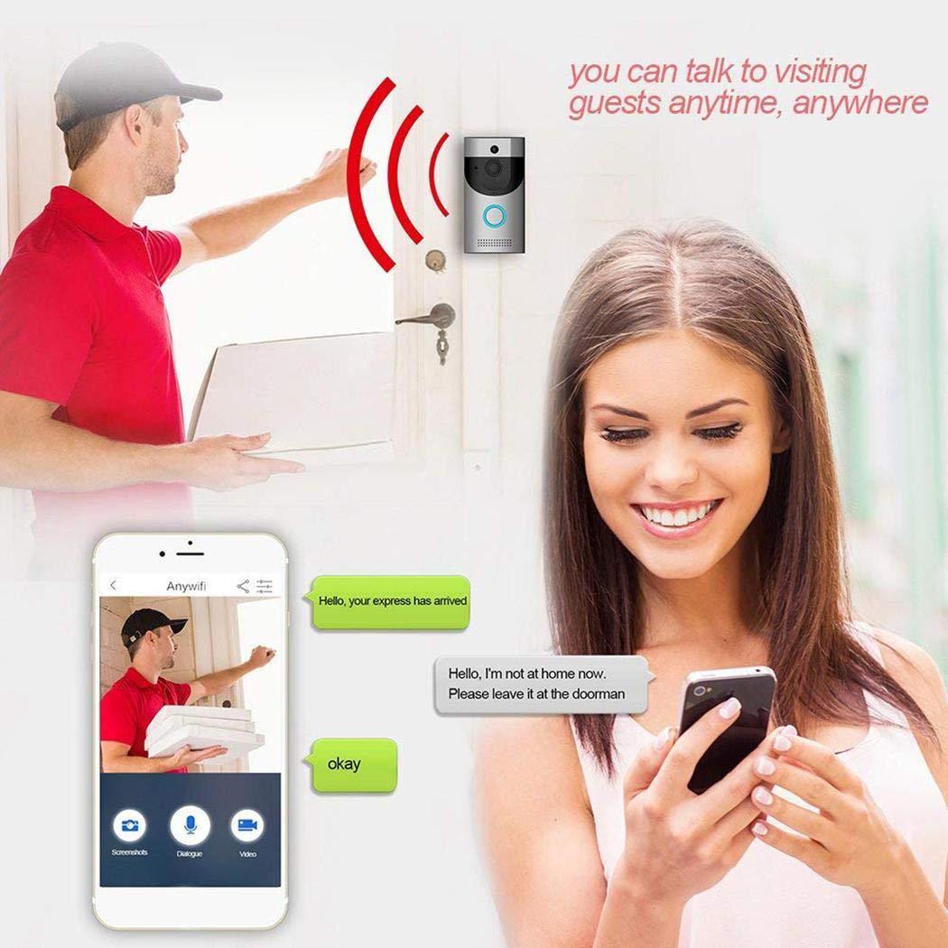 Erholi Home Alarm Smart Wifi Wireless Video Intercom Doorbell Kits by erholi (Image #1)