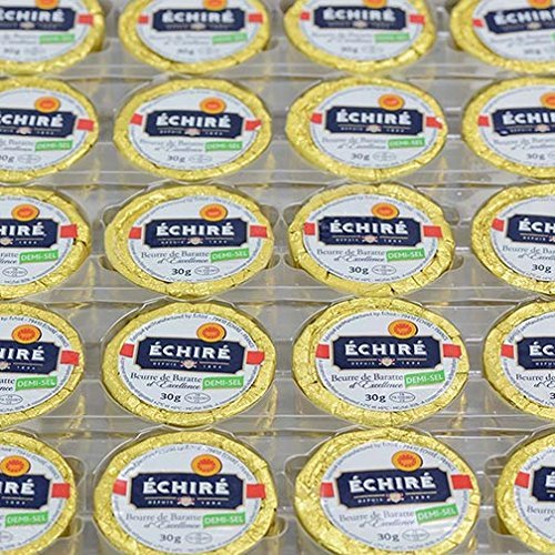 Echire Butter Refill, Slightly Salted - 100 X 1.1 Oz