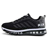 BETY Homme Femme Air Baskets Chaussures Gym Fitness Sport Sneakers Style Running Multicolore Respirante