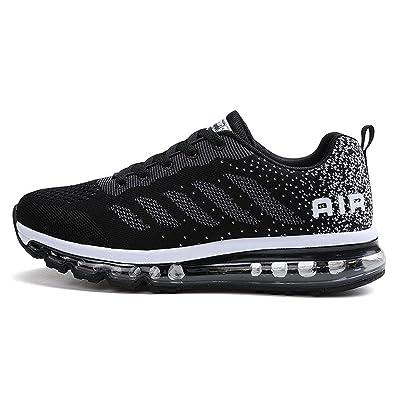 Damen Schuhe Sneakers Bequeme Sportschuhe Runner Leichte Turnschuhe Freizeitschuhe Trainer Gold 39 oOX57MlB