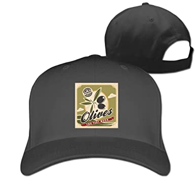 Olive You Very Much Trucker Hat Sun Hats Fashion Flat-Along Cap at ... b6eb5cc5ed9