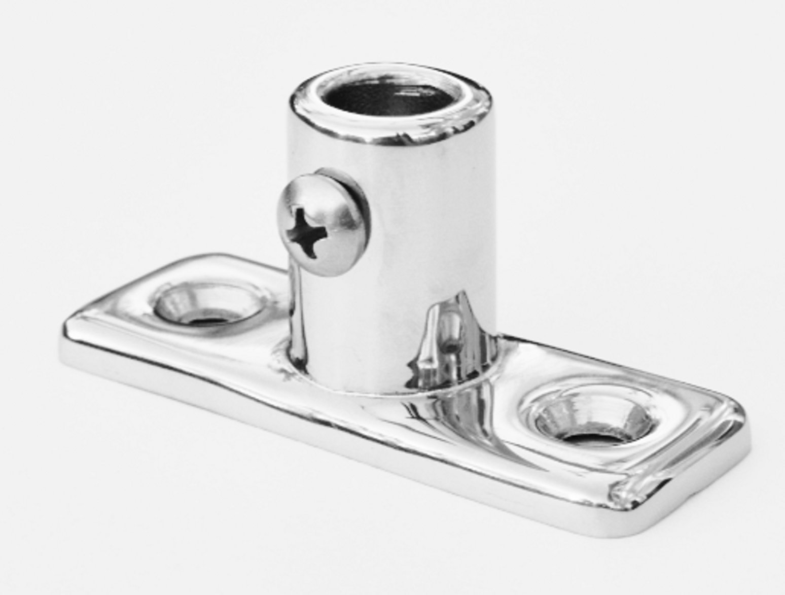 Marine Grade Stainless Steel Boston Whaler Stanchion End for Rail OD 3/4'' - Stanchion End
