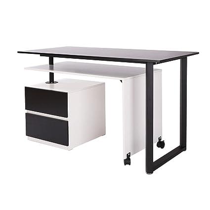 Elegante mesa de silla de oficina en casa mesa de escritorio en ...