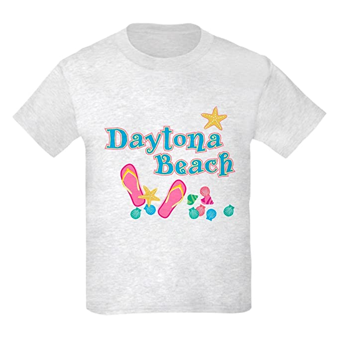 Amazon.com  CafePress - Daytona Flip Flops - - Kids Cotton T-Shirt ... 1b1afede7