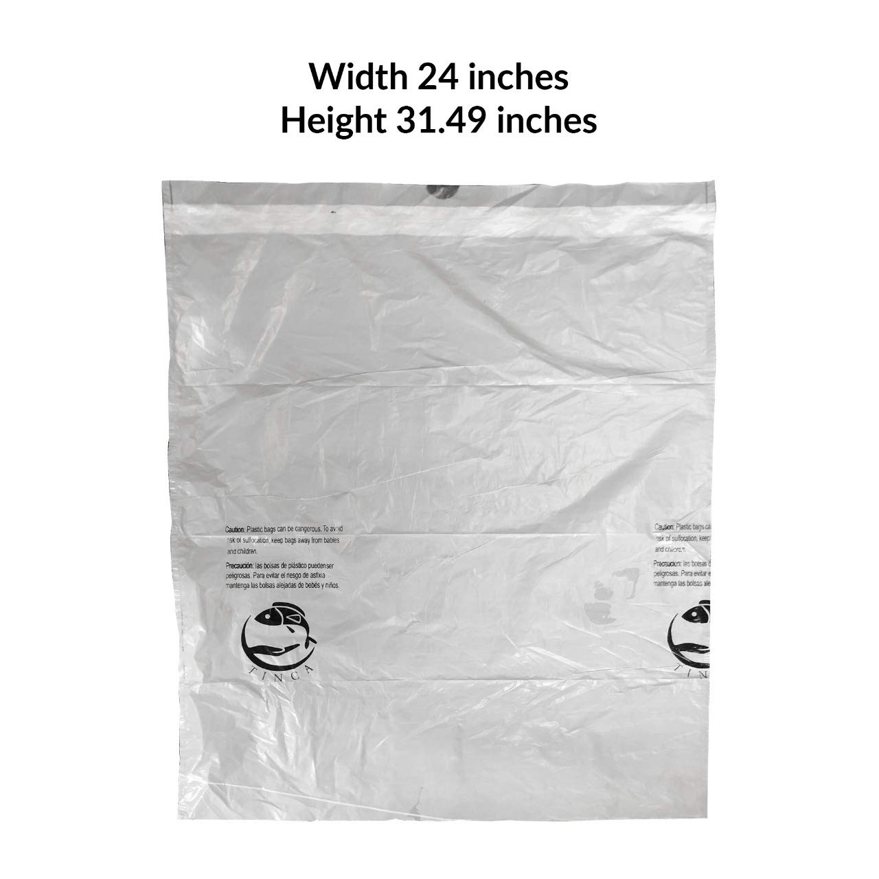 Amazon.com: Tinca 13-16 Gallon Trash Bag (P Compatible ...