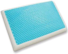 Classic marcas Reversible Cool Gel y almohada de espuma de memoria, estándar