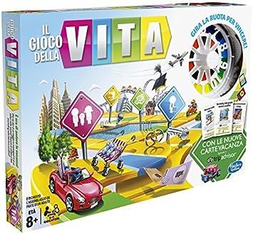 Hasbro «Il gioco Della Vita» (Idioma español no garantizado), Juego de Mesa Moderno: Amazon.es: Juguetes y juegos