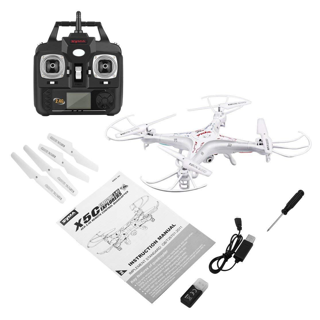 Kaemma Syma X5C 2.4G 6 Ejes Gyro RC Aviones Quadcopter Drone UAV ...