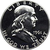 1961 P Franklin Halves (Proof) Half Dollar PR67 PCGS