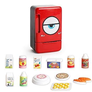 Kinder Spielzeug, Momola Kinder-Kühlschrank Spielzeug Set Mini ...