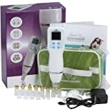 Facial Pore Vacuum Cleaner Blackhead Remover- Nose Microdermabrasion Removal Tool Kit with Tips- Fight Acne and Blackheads