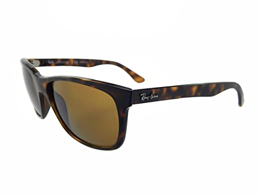 564db1c67825 Ray Ban RB4181 710 83 Tortoise  Brown Polarized 57mm Sunglasses  Amazon.co. uk  Clothing