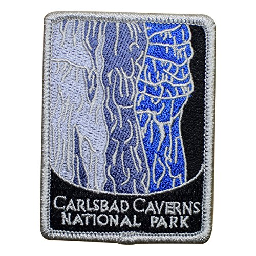 Carlsbad Caverns National Park Patch - Guadalupe Mountains, New Mexico (Iron on)