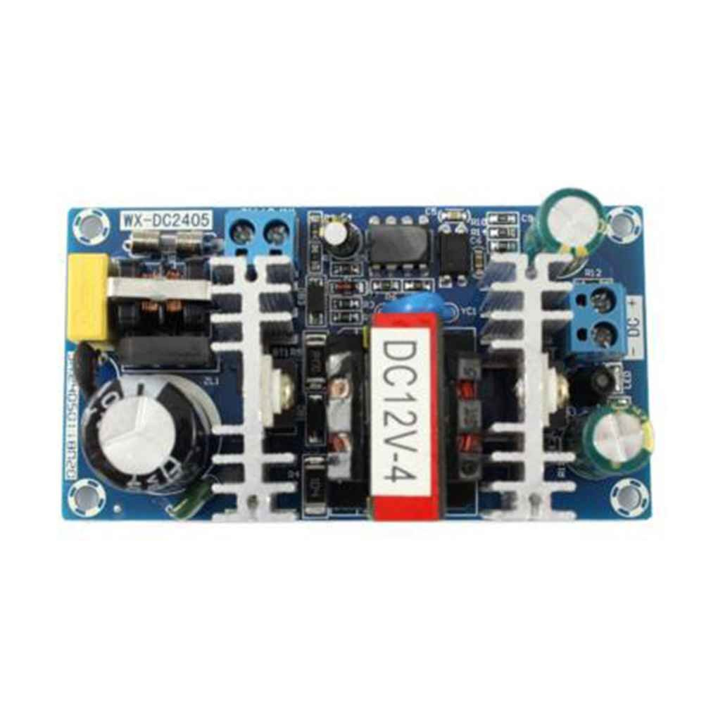 50W AC 100V-240V to DC 12V 4A Switch Power Supply Module AC-DC Low Ripple Industrial Power Supply Bare Board Regard Regard Natral AmzRegard5435