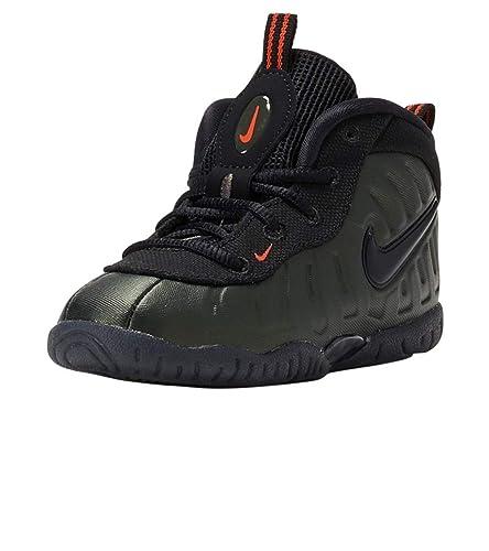 best service 6c732 33c22 Nike Toddler Foamposite Pro Sequoia Sequoia/Black-Team Orange