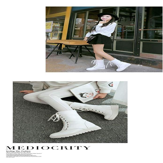 In Stivali Scarpe Cinturini Glamorous Pelle Martin Donna Con Shirloy Xqa74w