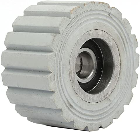 RUBBER  PINCH  ROLLER  WITH METAL BEARING