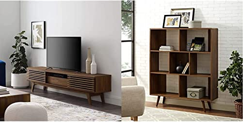 Editors' Choice: Modway Render 70″ Mid-Century Modern Low Profile Entertainment TV Stand