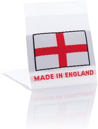 Wunderlabel Fabriqué En Angleterre Tissé Tag Vêtements