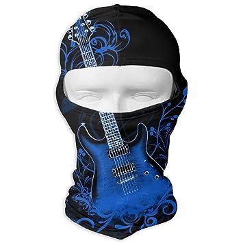 Zcfhike Fondo de Guitarra eléctrica Azul Motocicleta de Invierno ...