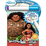 Bendon Disney Moana Imagine Ink Magic Ink Pictures (73581)( Cover artwork may vary )