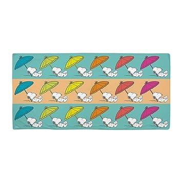 CafePress – Snoopy – Napping – Toalla de playa de gran tamaño, suave toalla de