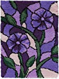 Stained Glass Latch Hook Rug Kit