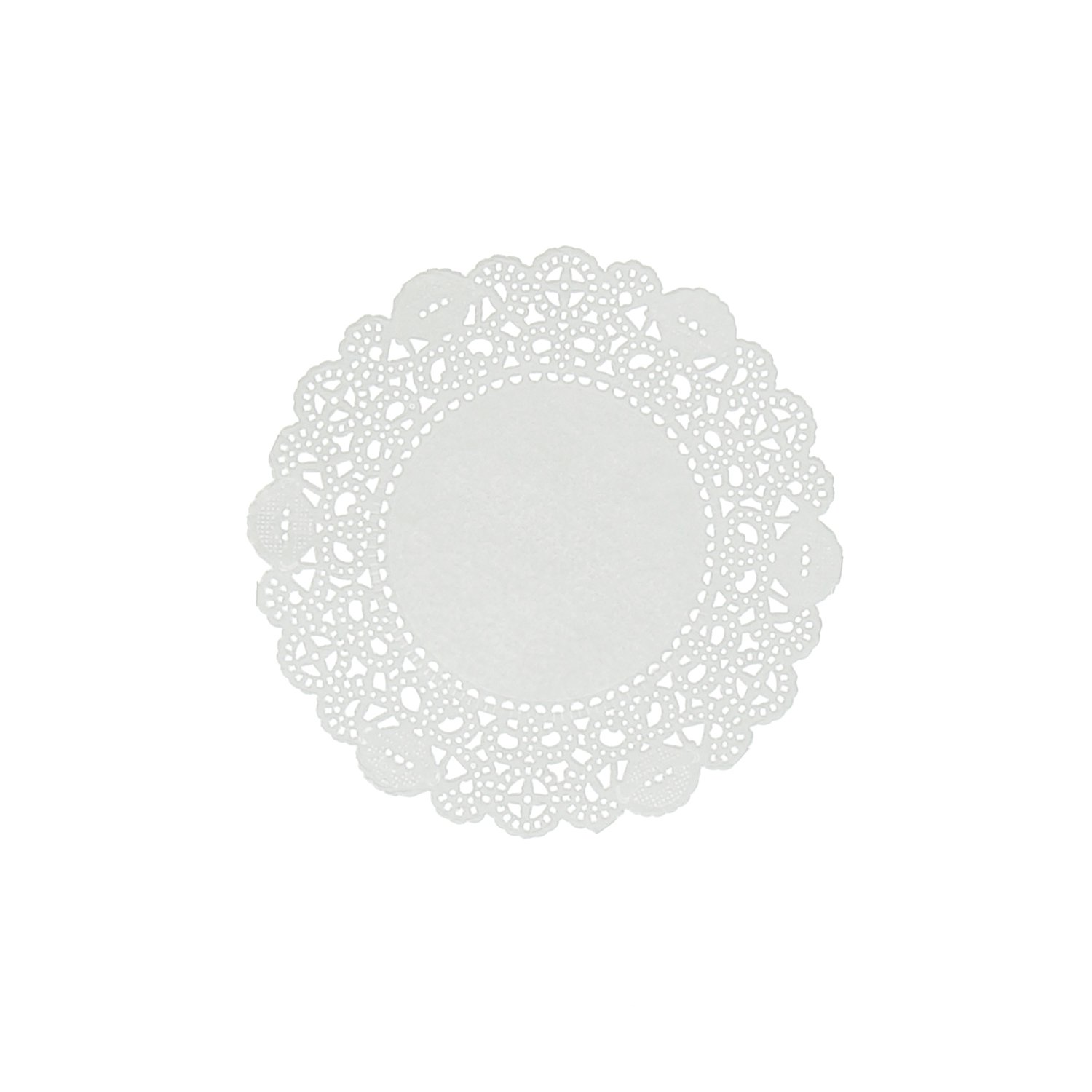 Royal 4'' Disposable Paper Lace Doilies, Package of 1000