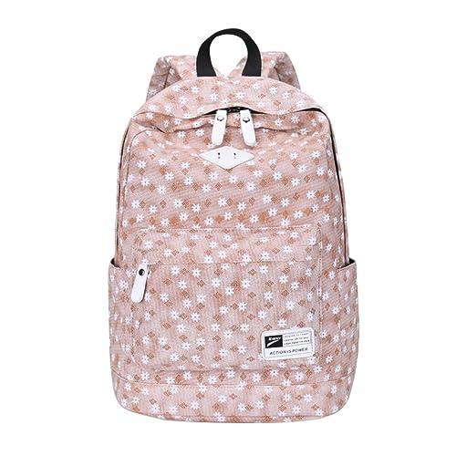 MingTai Oferta Mochilas Escolares Backpack Mochila Escolar Portatil Mujer Lona Grande Casual Chicas Multifuncional Para Libros Bolsa Lienzo: Amazon.es: ...