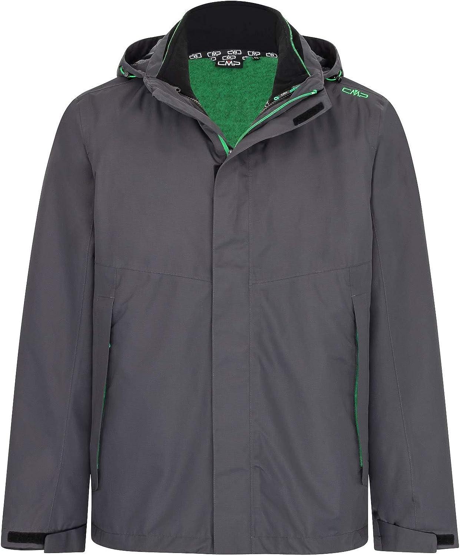 CMP Herren 3 in 1 jacke mit Abnehmbarem Innenfleece Jacket