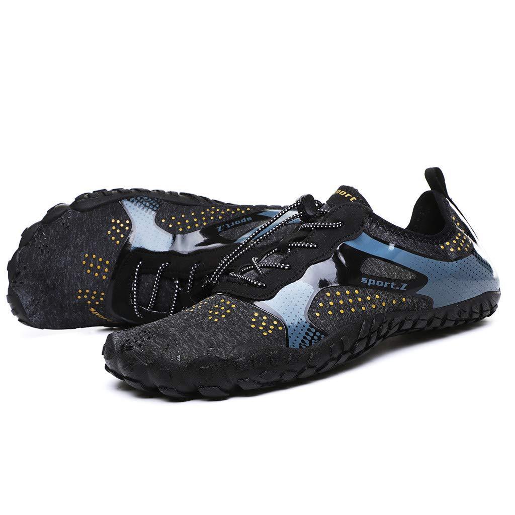 manadlian Chaussures de Plong/ée Aquatique Sandales de Surf Yoga Pantoufle /à S/échage Rapide Aqua Chaussettes Slip-on Chaussures deau Chaussons pour Enfants Hommes Femmes