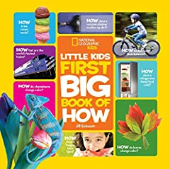 This charming reference book answers questions kids ask every day, taking a closer look at the things that surround them and how they work—from cars to vacuum cleaners, storms to seasons, animal bodies to humans. More than 100 colorful photos...