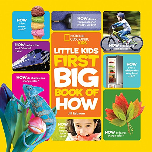 Little Book Science Experiments - National Geographic Little Kids First Big Book of How (National Geographic Little Kids First Big Books)