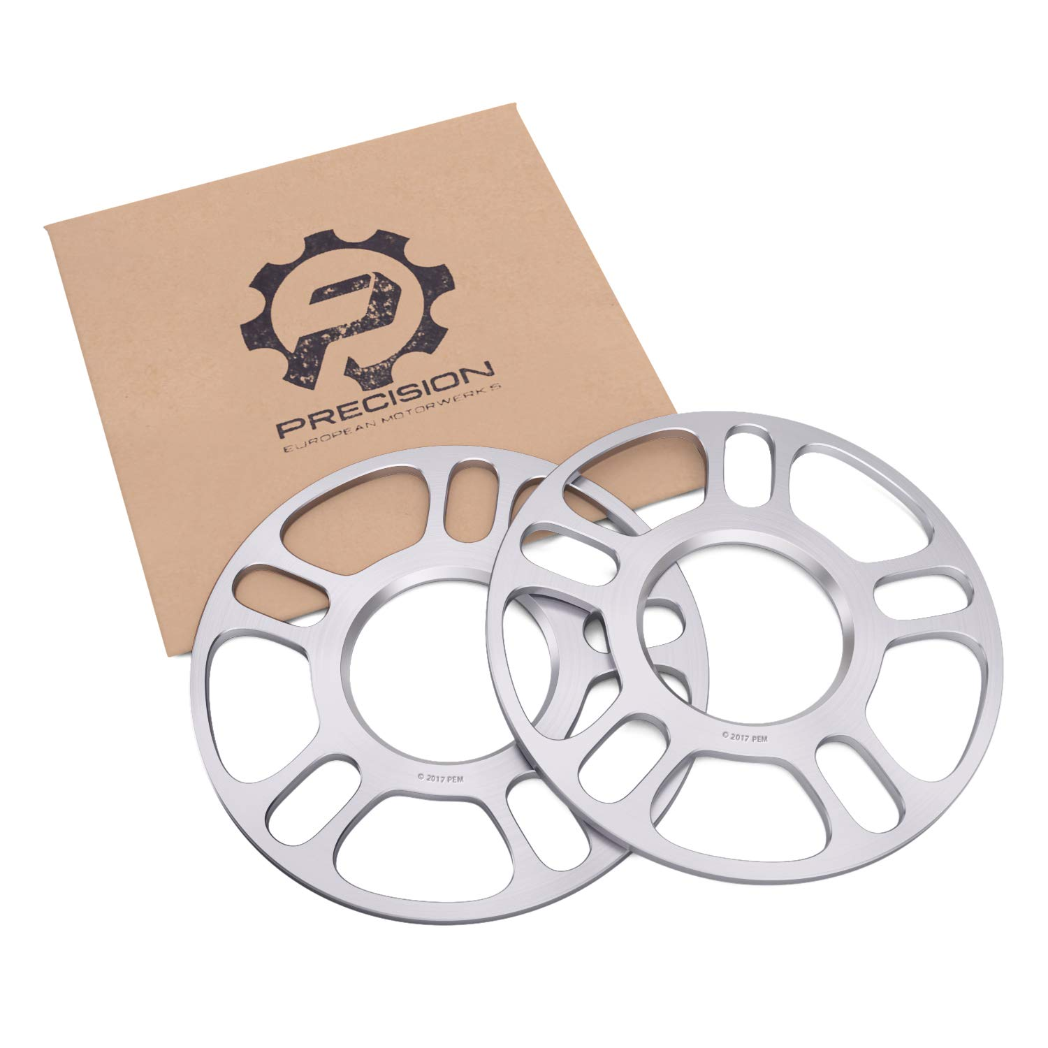 2pc 5mm 5x120 Hubcentric Wheel Spacers (72.6/72.56 Bore) Extremely Lightweight for many BMW Vehicles:318i 320i 325i 328i 335i M3 428i 435i M4 525i 528i 530i 535i M5 Z3 Z4 640i 645ci E36 E46 E90 E92