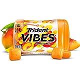 Trident Vibes 热带水果无糖口香糖 - 4瓶装 (共160块)