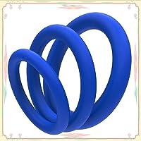 Juego de anillos de silicona de seguridad ultracómodos