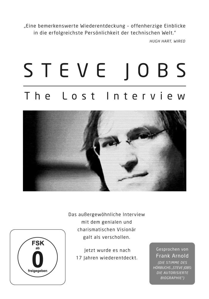 Steve Jobs - The Lost Interview: Amazon.de: Steve Jobs, Robert X ...
