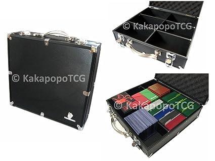 Superieur KakapopoTCG Black Kaibau0027s Briefcase Lockable Storage Carry Case For Trading  Cards TCG Deck Protector Deck Box