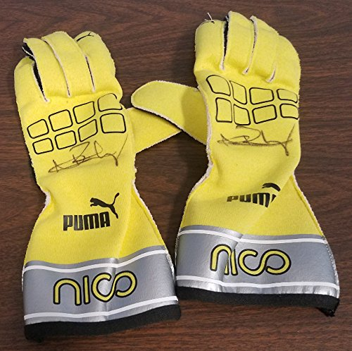 - Nico Rosberg Autographed Racing Gloves